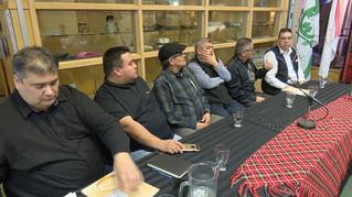 Conférence de presse sur la rencontre des Chefs Innus portant sur la lutte de drogues et à la consommation