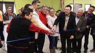 Inauguration de la nouvelle gare Transport Ferroviaire Tshiuetin
