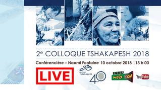 Conférencière – Naomi Fontaine / Colloque Tshakapesh 2018