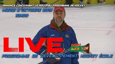 Programme de développement hockey école