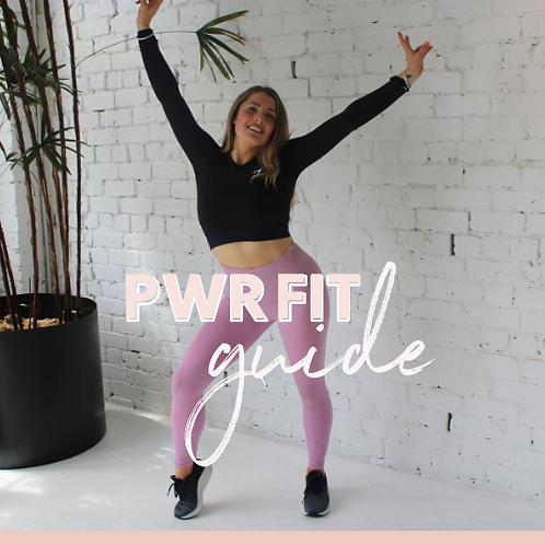 PWR Fit Guide & Personalised Nutrition Bundle