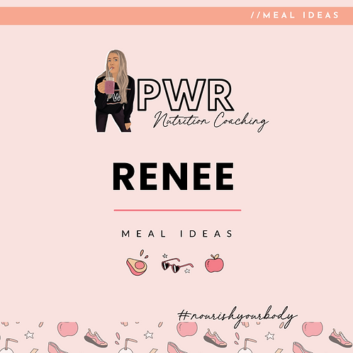 PWR - Nutrition plan for fat loss
