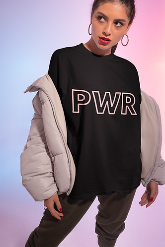 The OG PWR Pink Flossy Tee