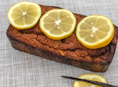 How to make a healthy delicious vanilla lemon loaf?!?