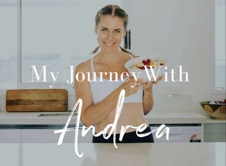 My health and fitness journey with Andrea Riggans