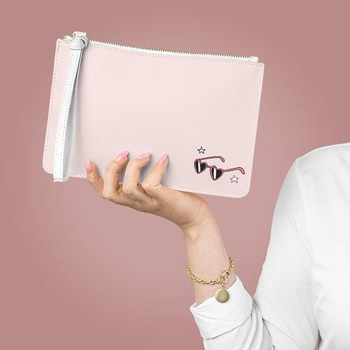 Flossy Pink Gym Clutch