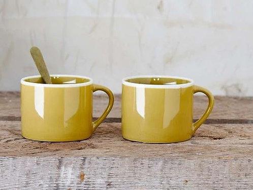 Nkuku Datia Mug Small -Mustard
