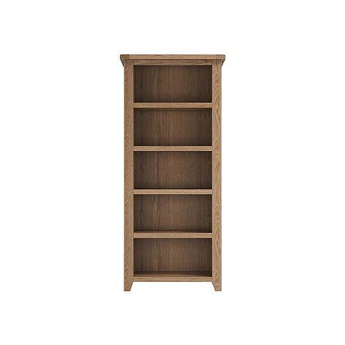 Plain Oak Large Bookcase