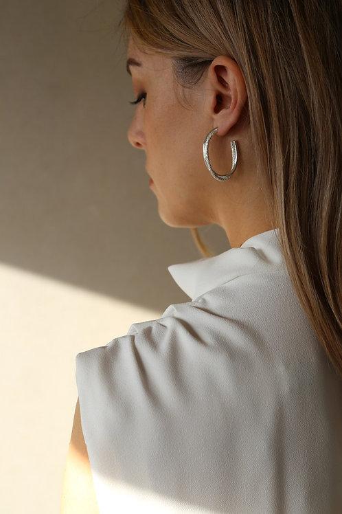 Twist Earring Silver