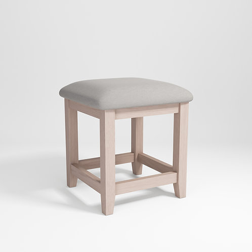 Smoke Oak Dressing Stool
