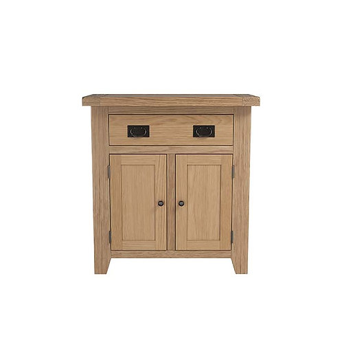 Plain Oak Small Sideboard