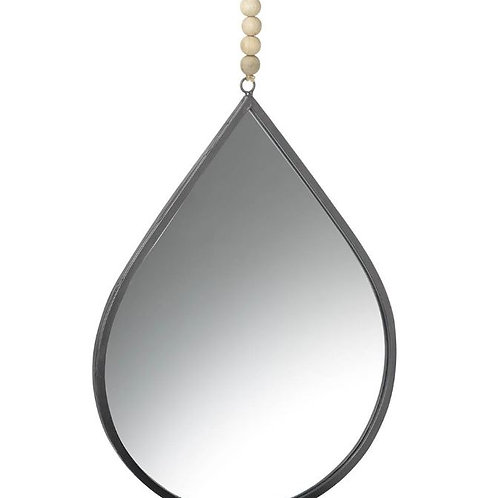Parlane Teardrop Mirror with Beads