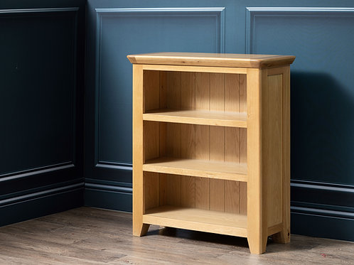 Henley Oak Low Bookcase