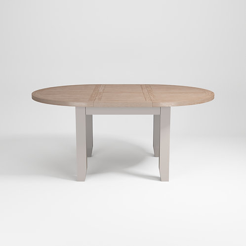 Pavilion Grey Extending Round Dining Table