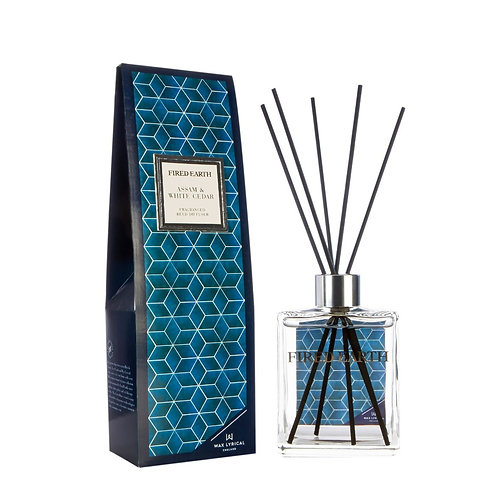 Fired Earth Reed Diffuser - Assam & White Cedar