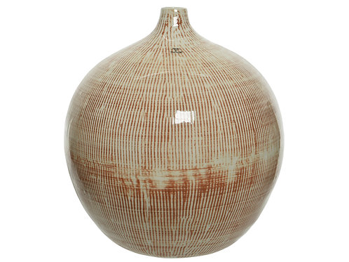 Earthenware Vase Small Stripes