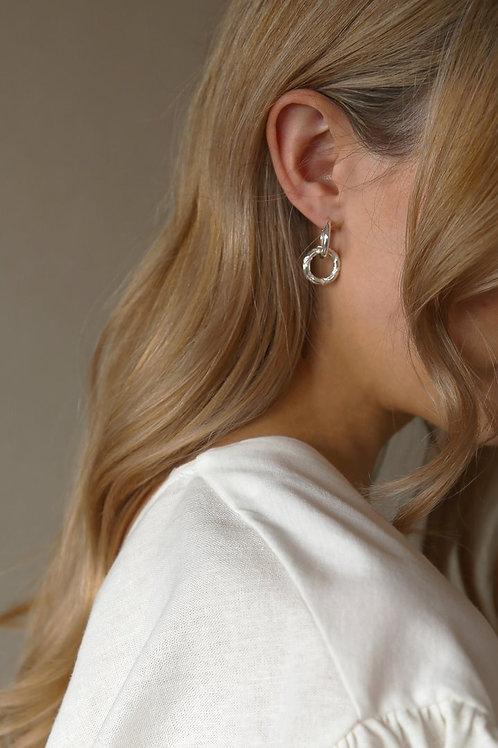 Ash Earring Silver