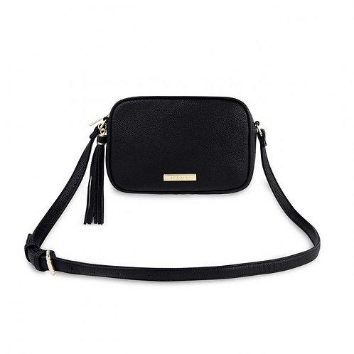Katie Loxton Sophia Tassel Cross Body Bag  -Black
