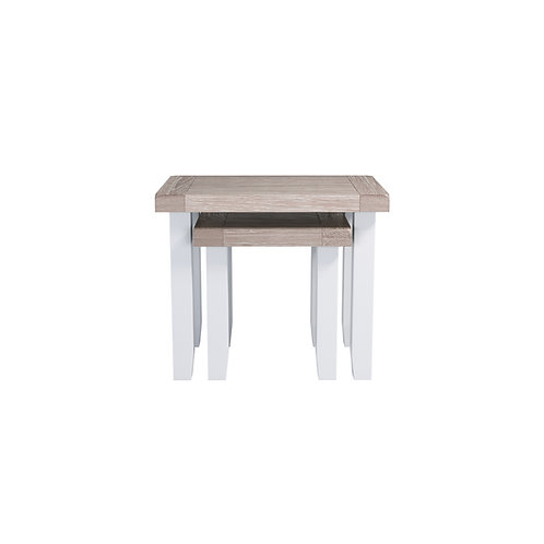 Pavilion Grey Nest of 2 Tables