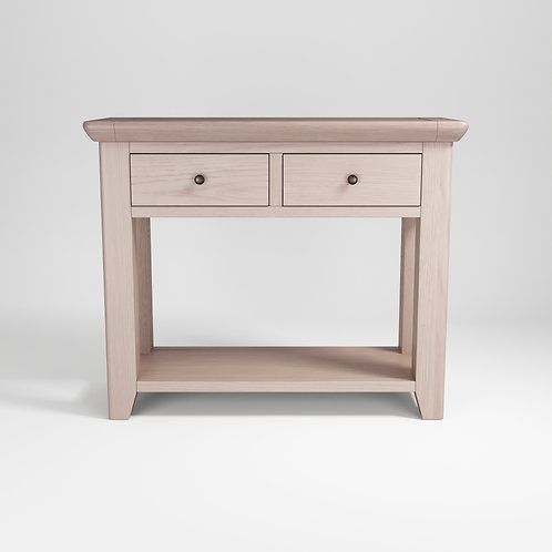 Smoke Oak 2dr Console