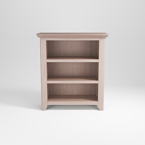 Smoke Oak Low Bookcase