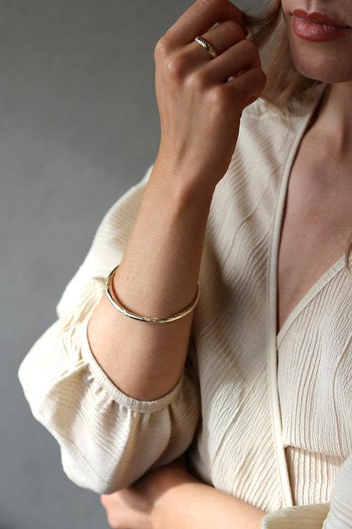 Rope Bangle Gold