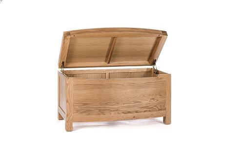 Quebec Oak Blanket Box