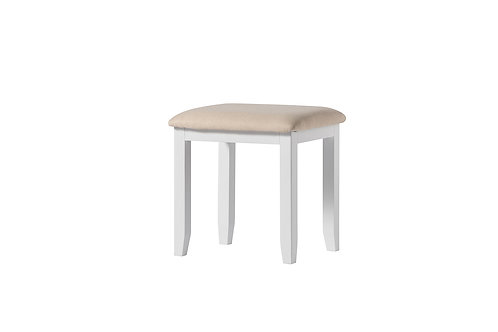 White Dressing Table Stool
