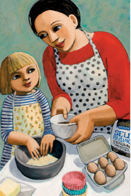 Canns Down Card -Cooking with Betty