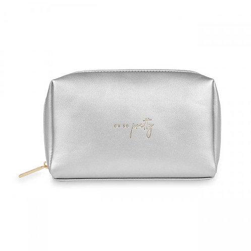Katie Loxton Colour Pop Makeup Bag - Silver