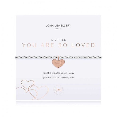A Little You are so Loved Bracelet