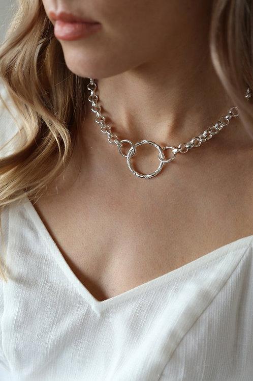 Ash Necklace Silver