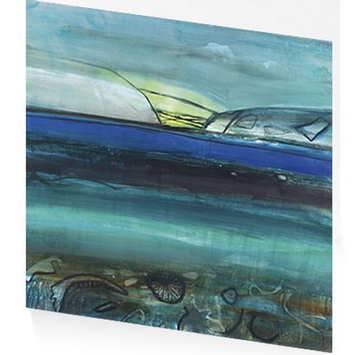 Art Press Card - Devon Island Beach