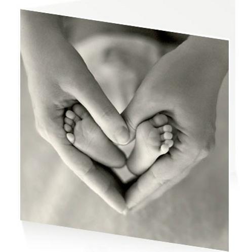 Art Press Card -Ten Tiny Toes