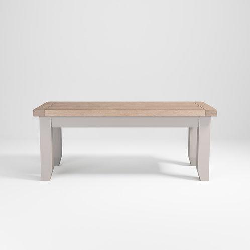 Pavilion Grey Bench