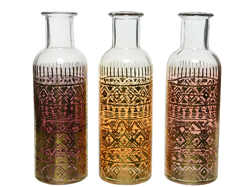 Bottles Henna Print -Set of 3