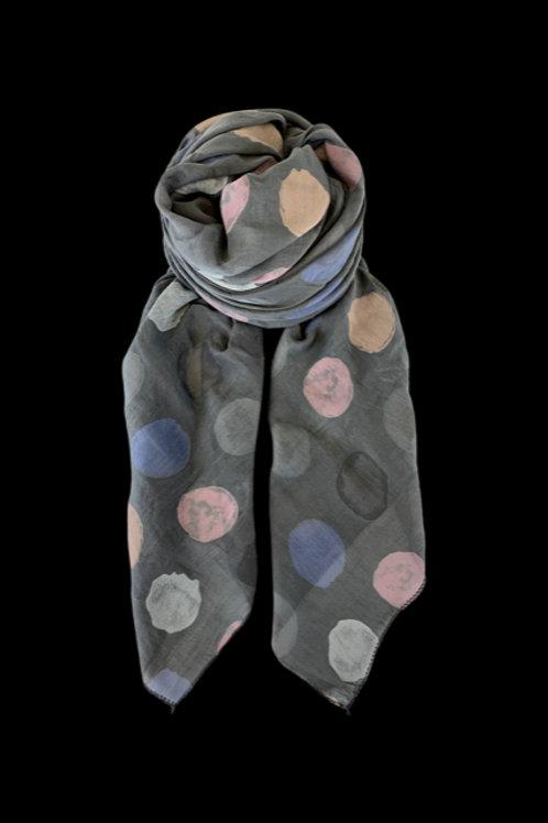 Scarf Mann -dark grey