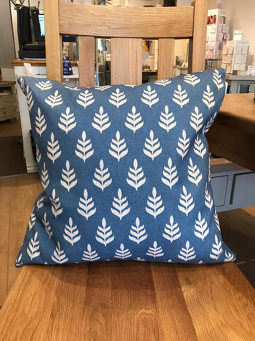 Mini Fir Cushion -Blue