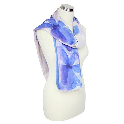 Peony Scarf Abstract Floral