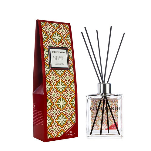 Fired Earth Reed Diffuser 180ml -Emperors Red Tea
