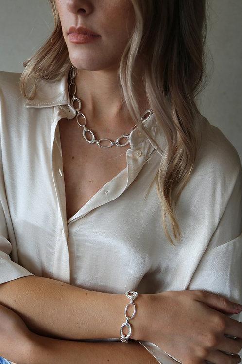 Echo Necklace Silver