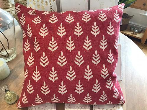 Mini Fir Cushion -Red