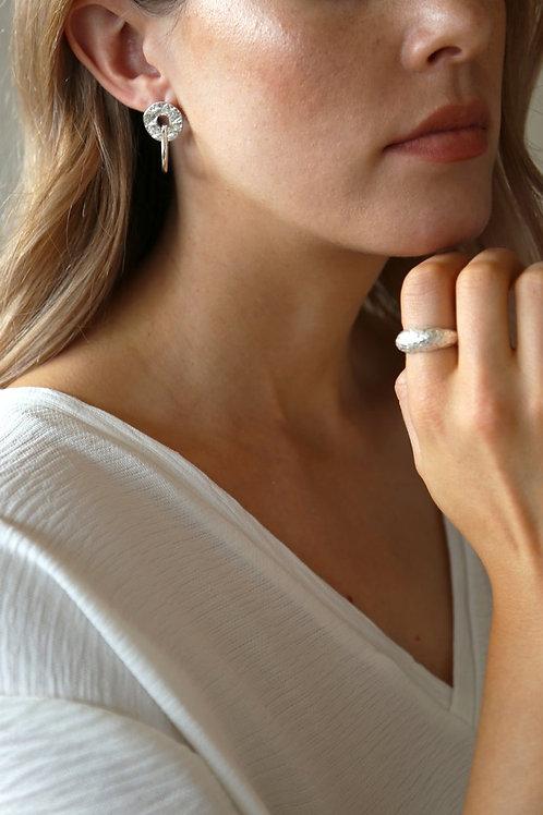 Infinity Earring Silver
