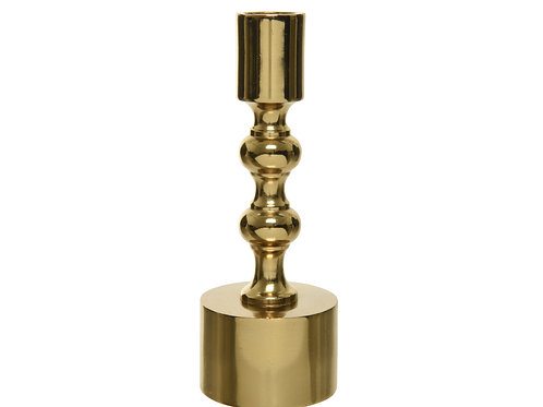 Metal Candleholder gold plated  - style B