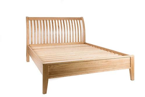 Quebec Oak King Bed