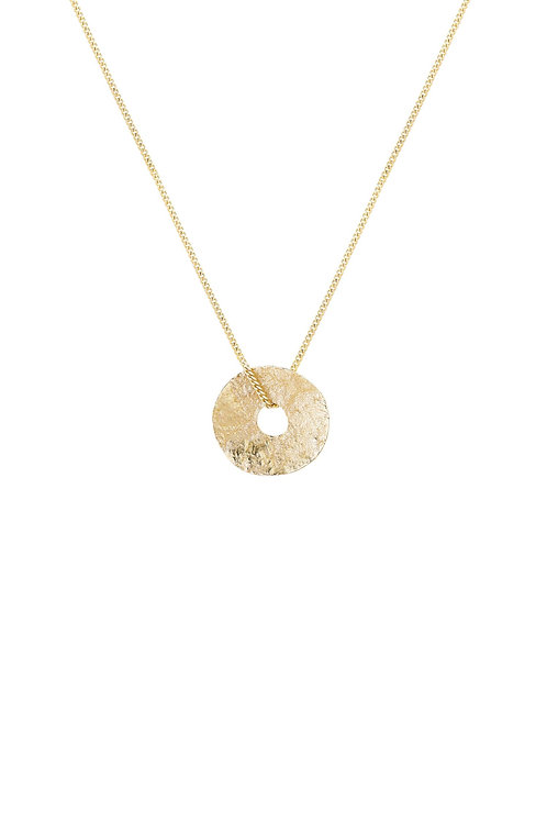 Sole Necklace Gold