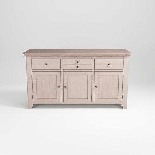 Smoke Oak Large 3Door Sideboard