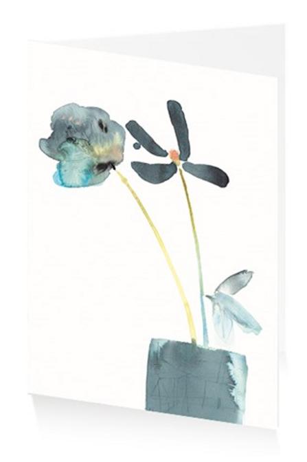 Art Press Card -Curious Flora