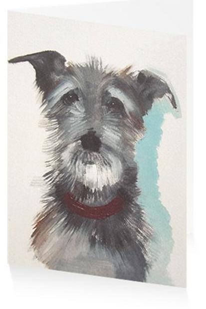 Art Press Card - Hairy Dog