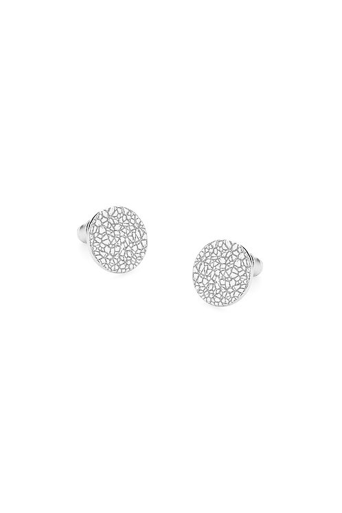 Surface Earring Silver